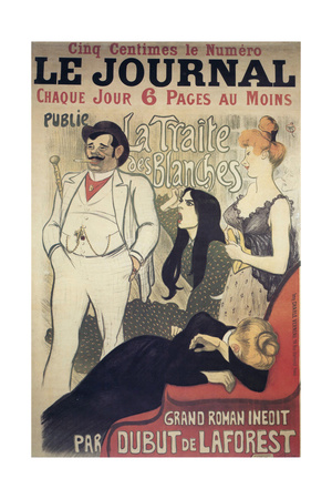 Le Journal, Poster, 1899 Giclee Print by Theophile Alexandre Steinlen