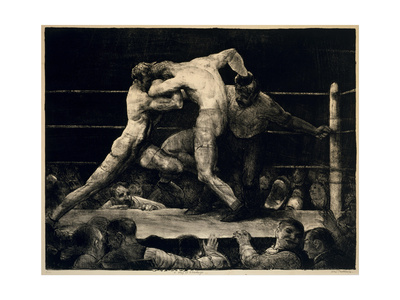 A Stag at Sharkey's, 1917 Giclee Print by George Bellows