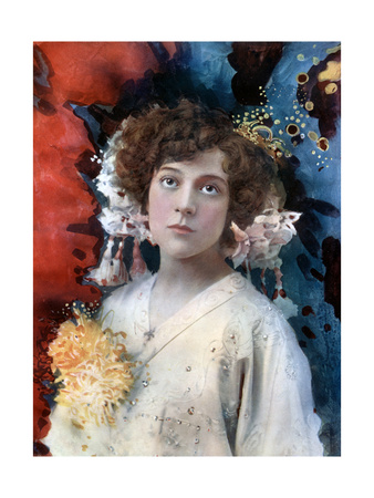 Florence Collingbourne in San Toy, C1902 Giclee Print by  Ellis & Walery