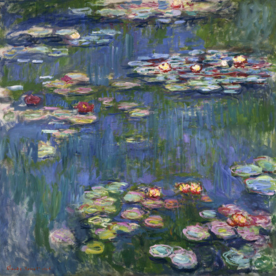 Water Lilies, 1916 Giclee Print by Claude Monet