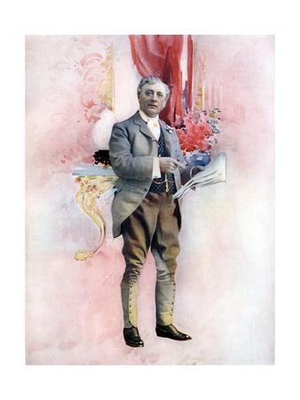 Charles Groves in the Elder Miss Blossom, C1902 Giclee Print by  Ellis & Walery