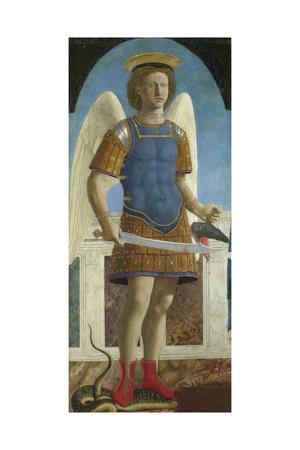 Saint Michael the Archangel, 1469 Giclee Print by  Piero della Francesca