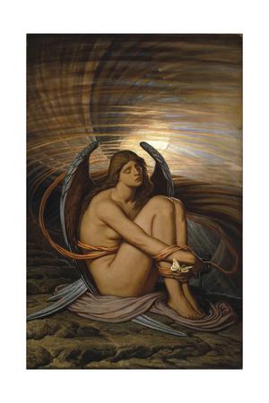 Soul in Bondage, 1891-1892 Giclée-Druck von Elihu Vedder