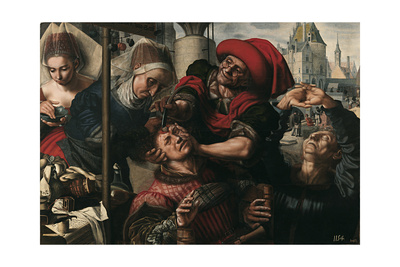 Surgery, 1550-1555 Giclee Print by Jan Sanders van Hemessen