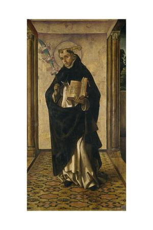 Saint Peter Martyr, 1493-1499 Giclée-tryk af Pedro Berruguete