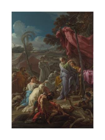 The Brazen Serpent, 1744 Giclee Print by Corrado Giaquinto