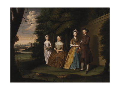 The Wiley Family, 1771 Giclee Print by William Williams