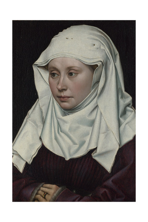 Portrait of a Woman, Ca 1435 Giclee Print by Robert Campin