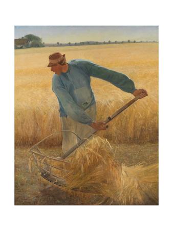 The Harvest, 1885 Gicléetryck av Laurits Andersen Ring