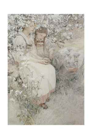 Blessed are the Pure in Heart: for They Shall See God, 1906 Lámina giclée por Alphonse Mucha