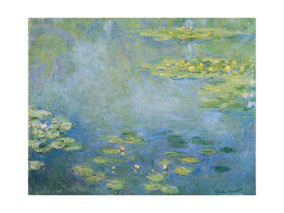 Water Lilies, C. 1906 Giclee Print by Claude Monet