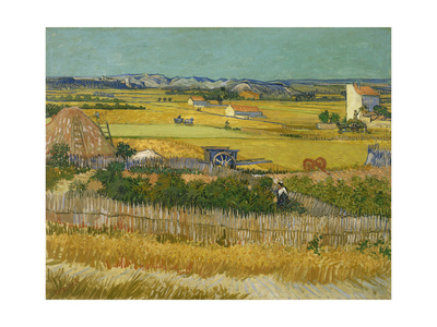 The Harvest, 1888 Giclee Print by Vincent van Gogh