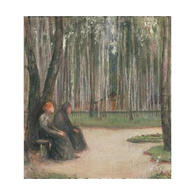 Towards Evening, 1897 Giclee Print by Yelena Nikolayevna Villiam