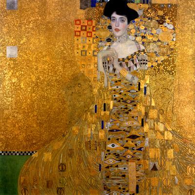 Adele Bloch-Bauer I, 1907 Giclée-tryk af Gustav Klimt