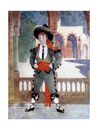 Edmund Payne in the Toreador, C1902 Giclee Print by  Ellis & Walery