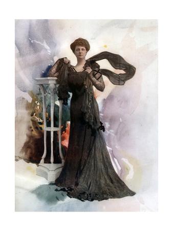 Kate Sergeantson, Actress, C1902 Giclee Print by  Ellis & Walery