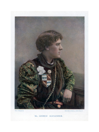 Sir George Alexander, English Actor and Theatre Manager, 1901 Giclee Print by  Ellis & Walery