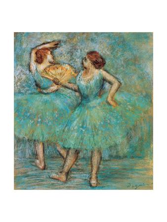 Two Dancers, C. 1905 Giclee Print by Edgar Degas
