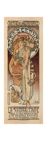 Woman of Samaria Giclee Print by Alphonse Mucha