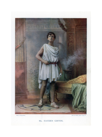 Charles Hayden Coffin, English Actor and Singer, 1901 Giclee Print by  Ellis & Walery