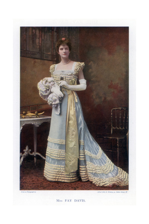 Fay Davis, American Stage Actress, 1901 Giclee Print by  Ellis & Walery