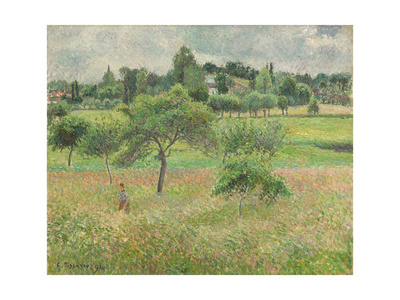 Pommiers À Éragny, 1894 Giclee Print by Camille Pissarro