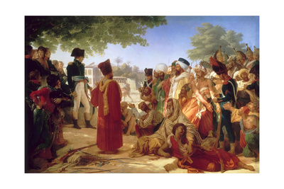Napoleon Bonaparte Pardoning the Rebels at Cairo, 23rd October 1798 Giclee Print by Pierre Narcisse Guérin