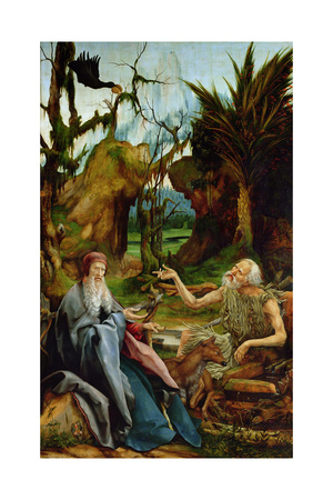 The Isenheim Altarpiece Giclee Print by Matthias Grünewald