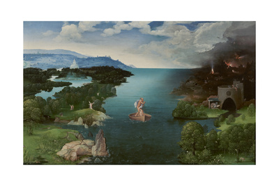 Charon Crossing the Styx Giclee Print by Joachim Patinir