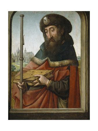 Saint James the Elder as Pilgrim Giclee Print by Juan de Flandes