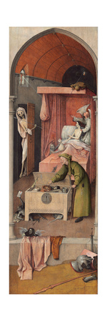 Death and the Miser, Ca 1485 Giclee Print by Hieronymus Bosch