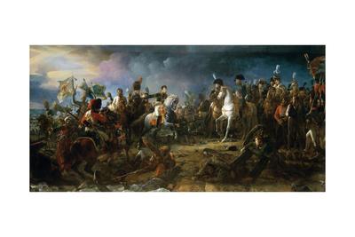 The Battle of Austerlitz on December 2, 1805 Giclee Print by François Pascal Simon Gérard