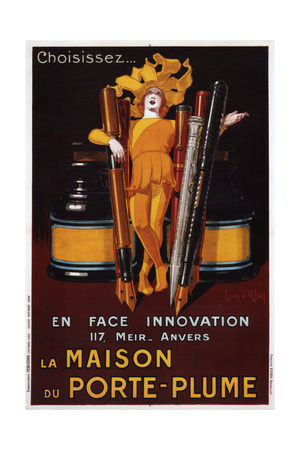 The House of the Pen, 1928 Giclee Print by Jean D'Ylen