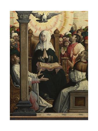 Pentecost Giclee Print by Juan de Flandes