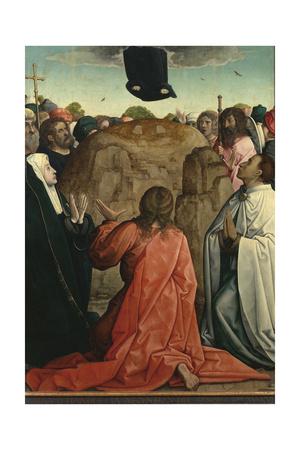 The Resurrection Giclee Print by Juan de Flandes