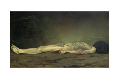 The Corpse Giclee Print by Felix Edouard Vallotton