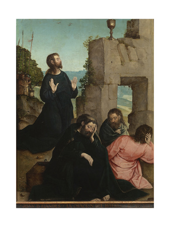 The Agony in the Garden Giclee Print by Juan de Flandes