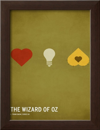 Wizard of Oz (kid version) Posters by Christian Jackson