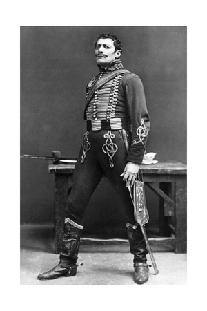Lewis Waller (1860-191), English Actor and Theatre Manager, Early 20th Century Giclee Print by  Ellis & Walery