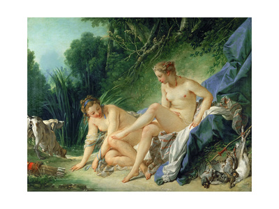 Diana after the Bath Giclee Print by François Boucher