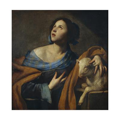 Saint Agnes Giclee Print by Massimo Stanzione