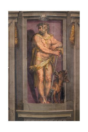 Pluto, 1556-1557 Giclee Print by Cristofano Gherardi