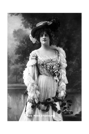 Marie Studholme (1875-193), English Actress, 1900s Giclee Print by  Ellis & Walery