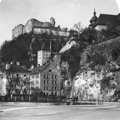 Nonnberg Abbey, Salzburg, Austria, C1900 Photographic Print by  Wurthle & Sons