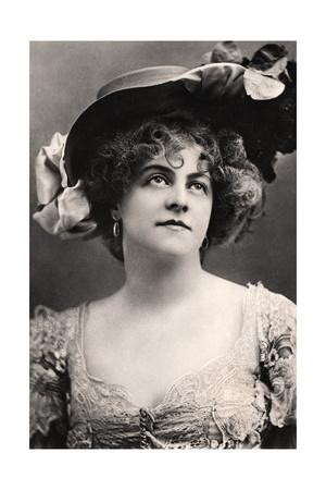 Marie Studholme (1875-193), English Actress, 1907 Giclee Print by  Ellis & Walery