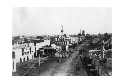 Baghdad Fron the North Gate, Iraq, 1917-1919 Giclee Print