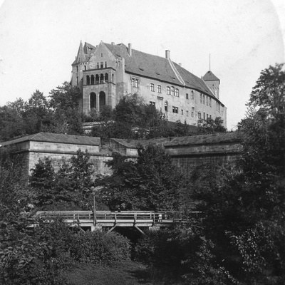 Nuremberg Castle, Nuremberg, Germany, C1900s Photographic Print by  Wurthle & Sons