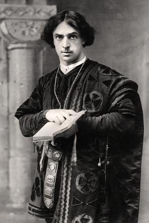 John Martin Harvey (1863-194), English Actor, 1907 Photographic Print by  Ellis & Walery