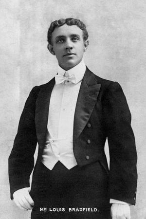 Louis Bradfield, 1903 Photographic Print by  Ellis & Walery