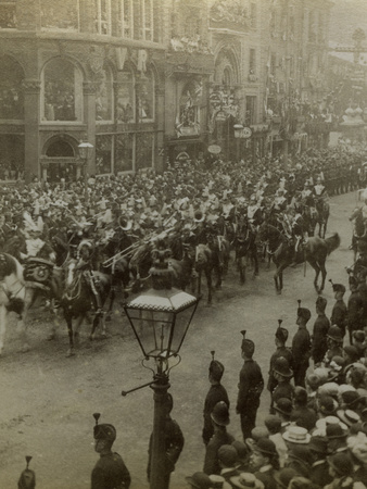 Procession for Queen Victoria's Diamond Jubilee, 1897 Photographic Print